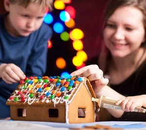 Gingerbread+House